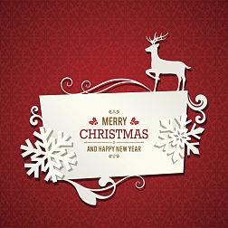 圣诞贺卡·圣诞快乐