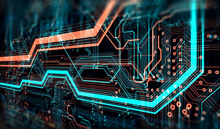 科技·芯片背景