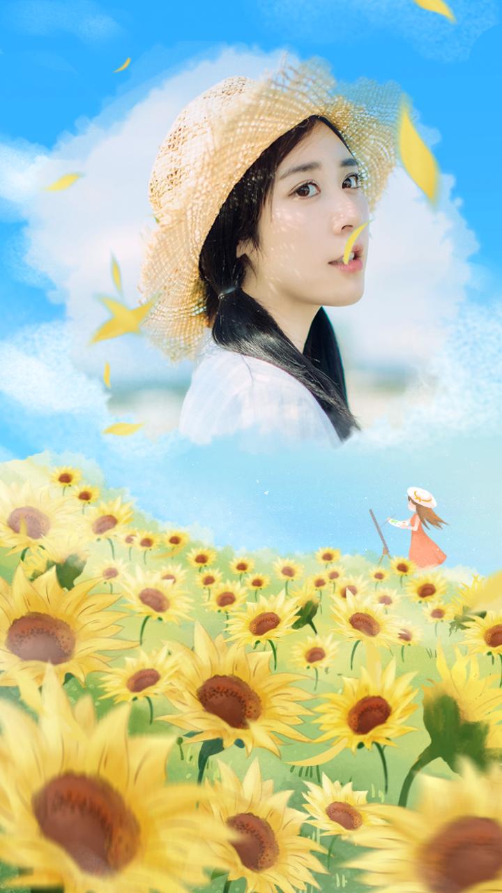 阳光向日葵问候语录