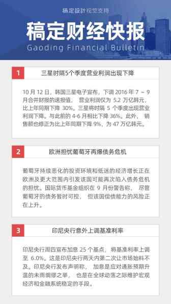 自媒体引流金融财经新闻简报快报