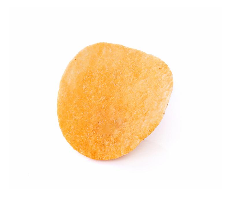 薯片,分离着色,白色背景,胆固醇,脆饼干,水平画幅,干的,泰国,食盐,清新