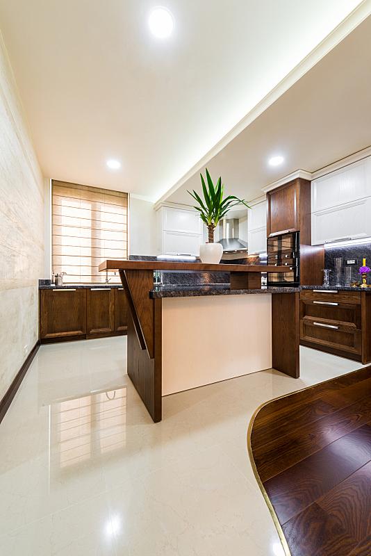 独立灶台,抽屉,现代,住宅内部,2015年,厨房,居家装饰,建筑,木制,新的