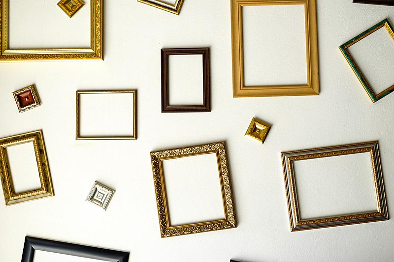 墙,相框,水平画幅,形状,木制,无人,画廊,2015年,抽象,标志