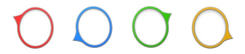 白色背景,气球,文字,背景分离,对话气泡框,三维图形,青绿色,黄色,演讲,讨论