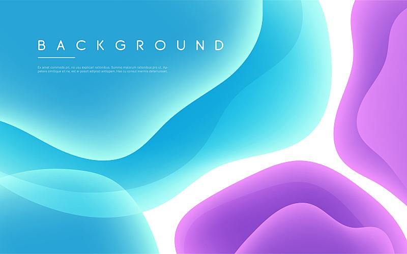色彩鲜艳,背景,极简构图,液体,泡泡,矢量,抽象,形状,活力,几何形状