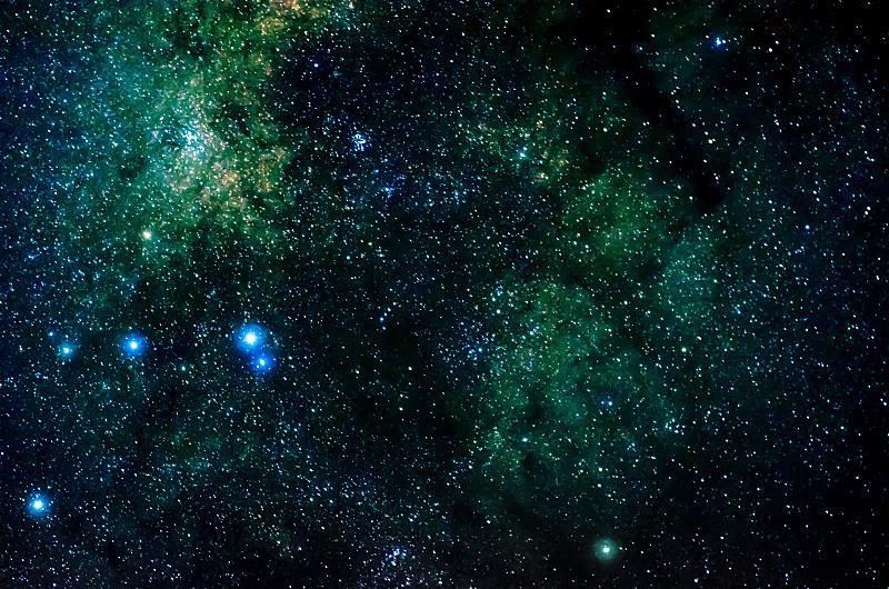天空,星系,星星,夜晚,太空,黑色背景,水平画幅,交流方式,无人,星云