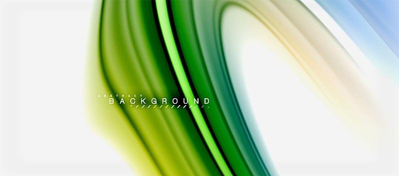 色彩鲜艳,彩虹,液体,背景,抽象,壁纸,塑胶,计划书,缠绕,设计