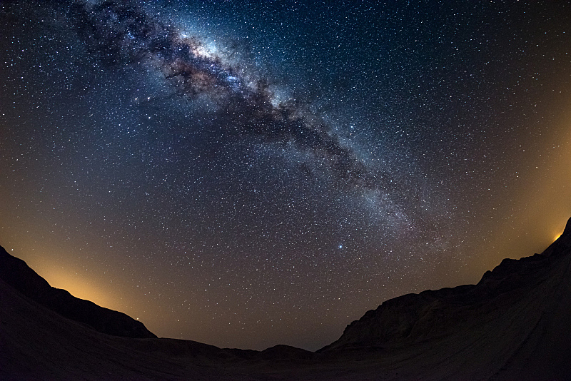 星系,纳米布沙漠,非洲,银河系,纳米比亚,拱门,雾,色彩鲜艳,明亮,左撇子
