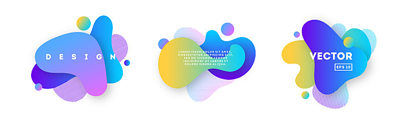 液体,抽象,山,活力,边框,模板,现代,涂料,三维图形