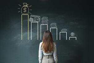 图表,金融,黑板,粉笔画,储蓄,水平画幅,美元符号,计算机制图,计算机图形学,银行存款单