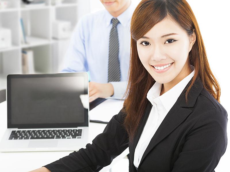 专业人员,可爱的,青年女人,办公室,仅成年人,现代,青年人,信心,技术,助手