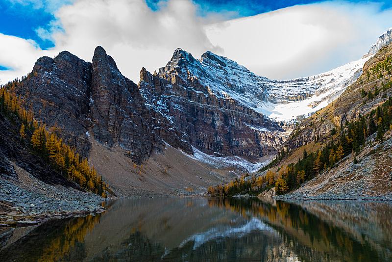 湖,徒步旅行,自然,洛矶山脉,水平画幅,岩石,茶馆,阿尔伯塔省,无人,户外