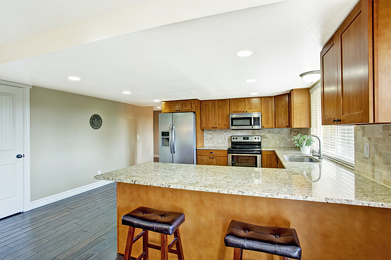 花岗岩,厨房,窗户,住宅房间,水平画幅,建筑,无人,小毯子,豪宅,天花板
