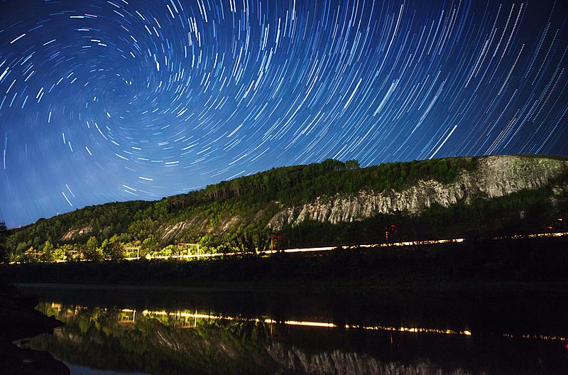 夜晚,自然美,星迹,天空,螺线,银河系,水平画幅,无人,科学,夏天