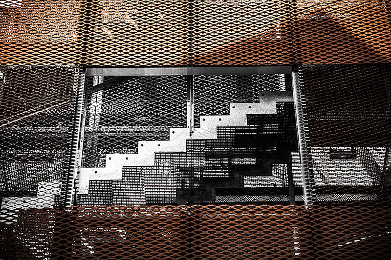 楼梯,罗亚尔河地区,式样,水平画幅,建筑,无人,欧洲,抽象,几何形状,计算机制图