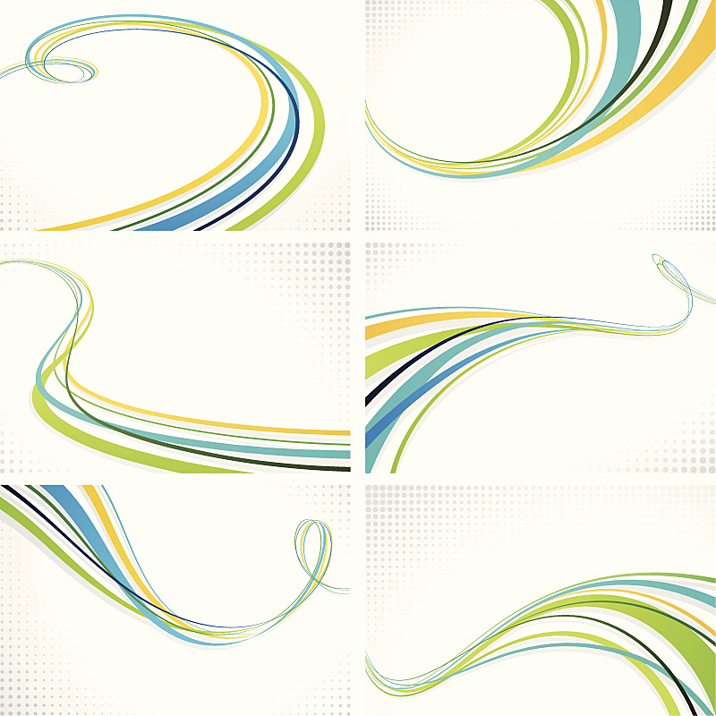 Graphic Wave Backgrounds