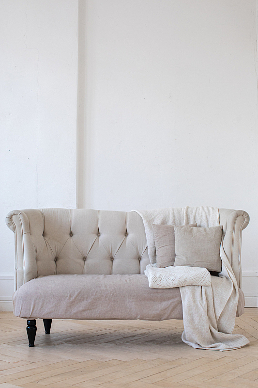 小的,住宅房间,沙发,垂直画幅,留白,室内,无人,高雅,公寓,舒服