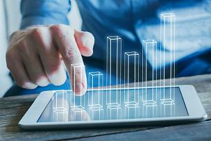 商务,概念,金融技术,计算机制图,计算机图形学,数学函数,男商人,图形界面,现代,技术