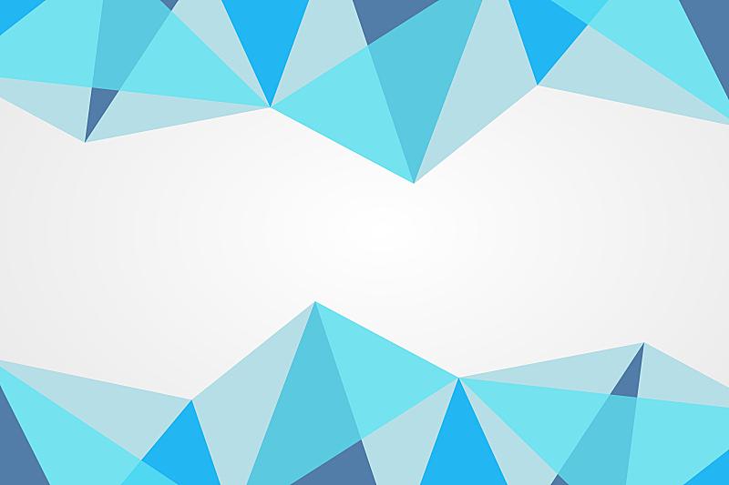 边框,绘画插图,几何形状,模板,矢量,商务,式样,蓝色,三角形