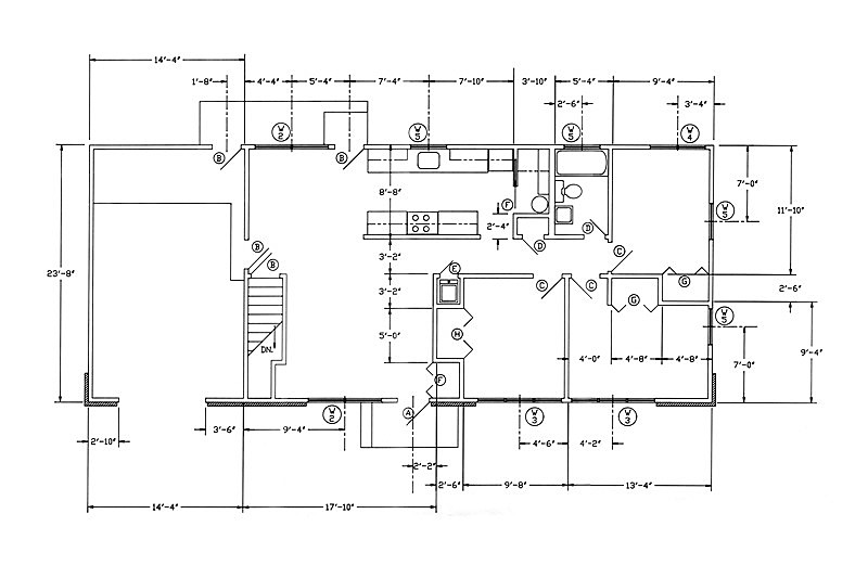 蓝图,房屋,英寸,铅笔画,水平画幅,形状,建筑,度量衡,做计划,计划书