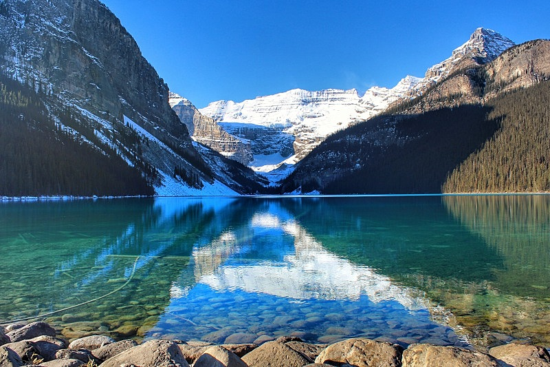 露易斯湖,美,山脊,加拿大,色彩鲜艳,自然美,湖,倒影湖,加拿大落基山脉,户外