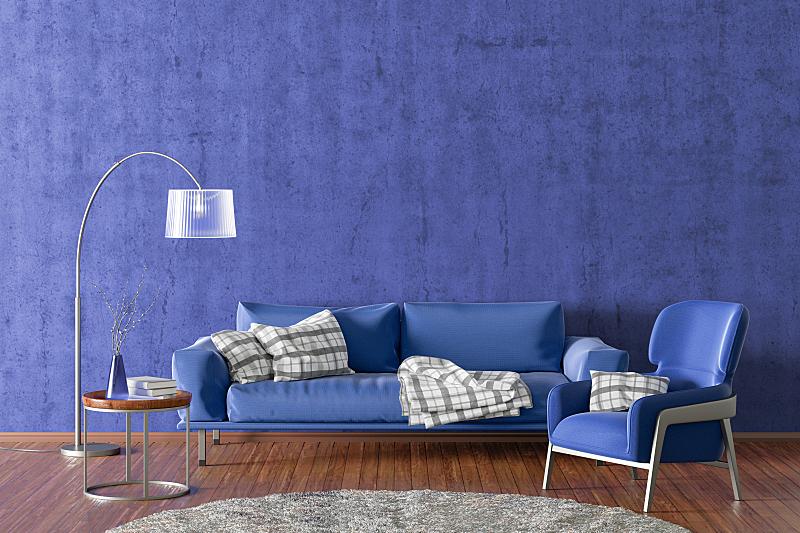 现代,起居室,室内,纺织品,舒服,地板,椅子,模板,住宅内部,植物