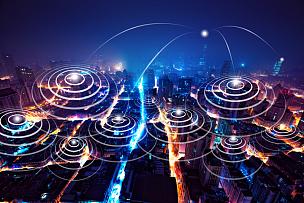 上海,计算机网络,技术,上海环球金融中心,全球通讯,大数据,计算机制图,地球形,未来,都市风景