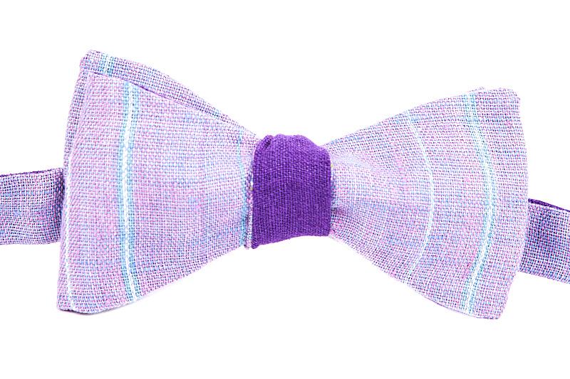 领结,白色背景,条纹,分离着色,紫色,个人随身用品,水平画幅,无人,职权,衣服