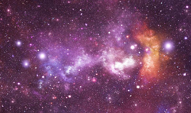星座,海豚鱼,天空,星系,水平画幅,夜晚,无人,绘画插图,星云,明亮