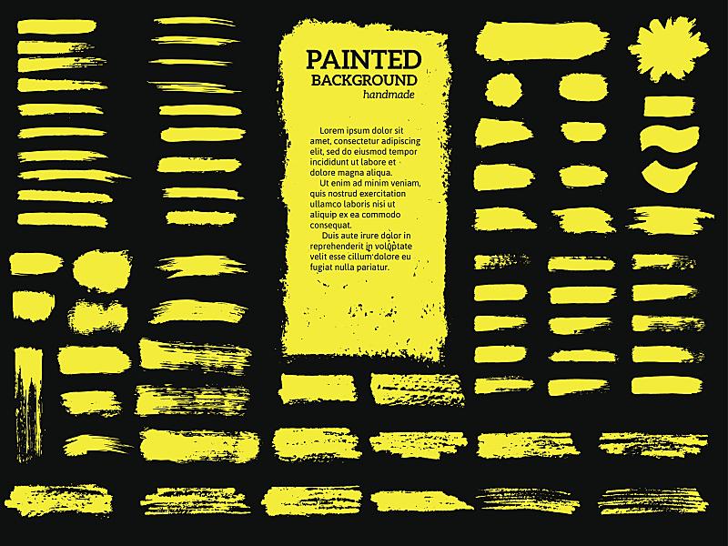 摇滚乐,条纹,涂料,混沌,边框,艺术,水平画幅,纹理效果,形状
