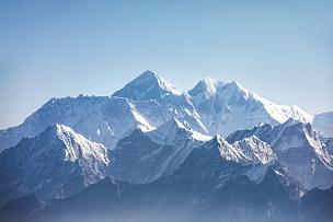珠穆朗玛峰,山,风景,日光,恐克,努子峰,洛子峰,珠峰大本营,坤布,山脊