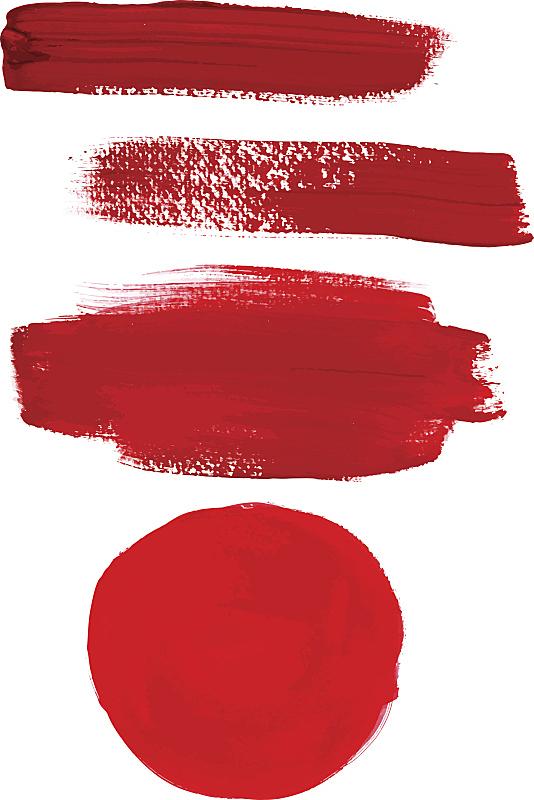 矢量,红色,笔触,抽象,涂料,舞台,无人,线条,图像,粗糙的