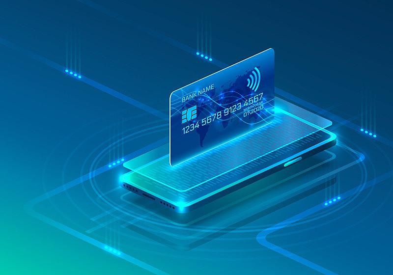 技术,信用卡,电话机,金融,图标,蓝色背景,数字化显示,商务,贺卡,计算机
