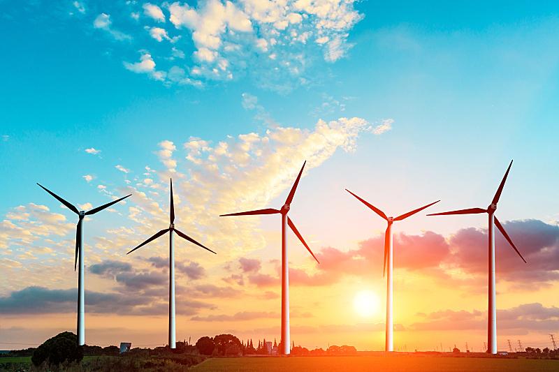 风轮机,都市风光,风力,磨坊,风车,替代能源,可再生能源,螺旋桨,天空,风