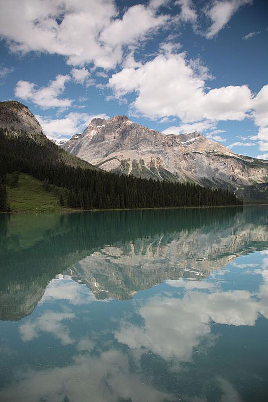 弓湖,加拿大落基山脉,弓河,班夫国家公园,垂直画幅,洛矶山脉,国家公园,雪,阿尔伯塔省,无人