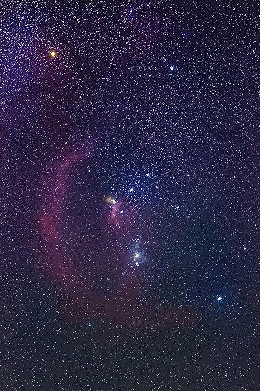 星座,猎户座大星云,星云,暗色,黄昏,壁纸,现代,天空,科学,夜晚