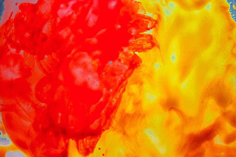 抽象,涂料,火焰,水彩画,美,水平画幅,秋天,无人,乌克兰,明亮