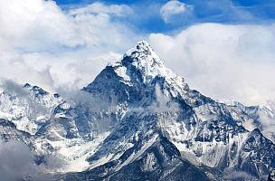 尼泊尔,阿马达布朗峰,山,喜马拉雅山脉,珠穆朗玛峰,山顶,雪崩,高处,大本营,冰瀑