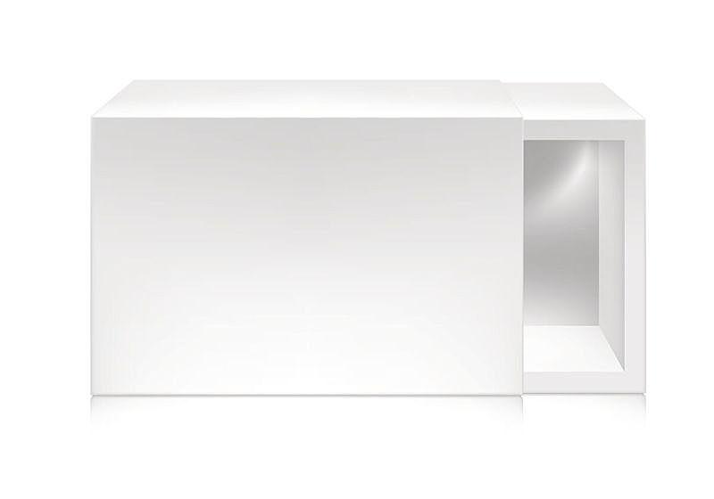 模板,盒子,纸,白色,轻蔑的,正下方视角,商务,空的,一个物体,背景分离