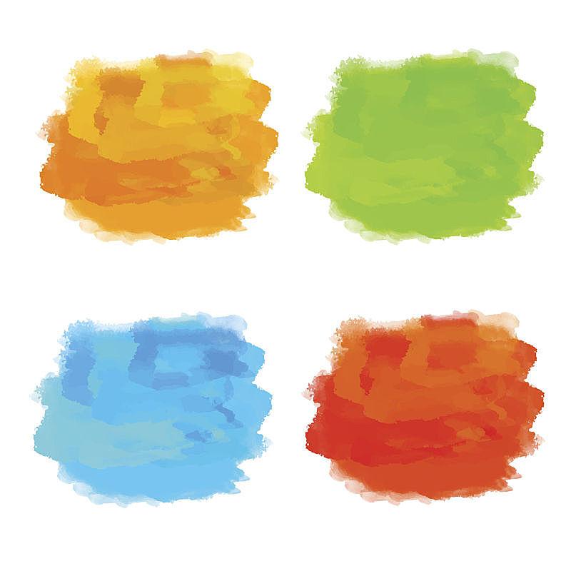涂料,彩虹,色彩鲜艳,玷污的,舞台,水彩画,纹理效果,水彩画颜料,背景分离,美术工艺