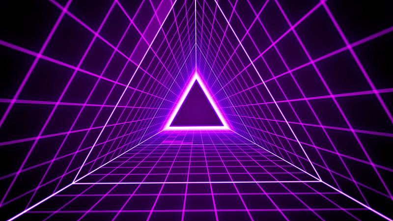 格子,照明设备,三角形,80年代风格,背景,未来,水平画幅,形状,聚会的音乐主持人,古典式
