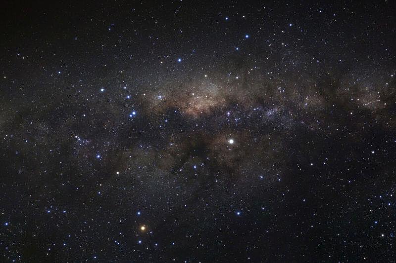 星系,泰国,银河系,彭世洛府,透明,天空,望远镜,水平画幅,星星,夜晚