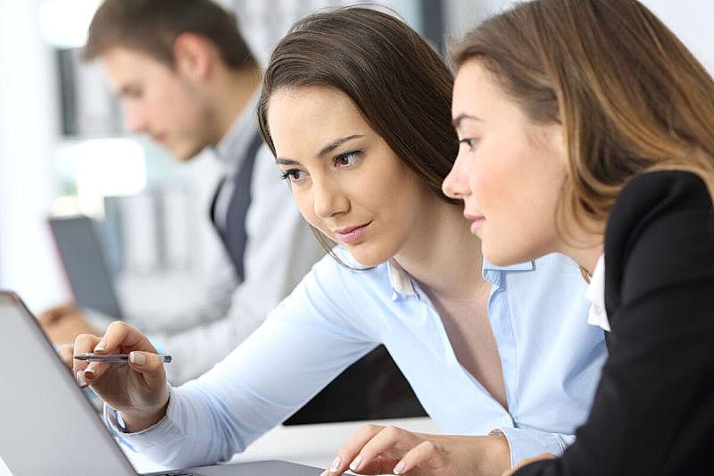 女商人,电子邮件,经理,it技术支持,知识,青年人,专业人员,学员,技术,计算机