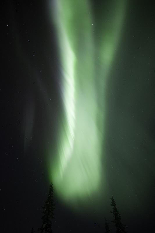 北极光,绿色,极光,垂直画幅,天空,美,夜晚,雪,无人,户外