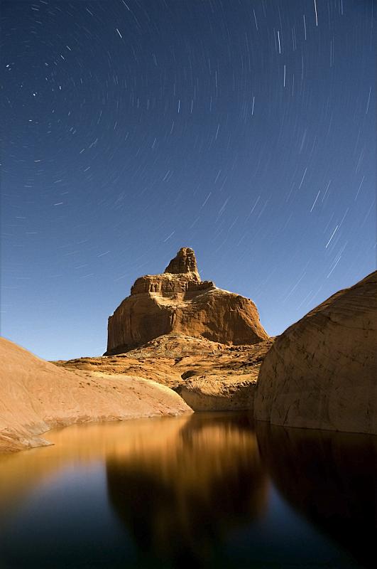 太空交通工具,岩石,鲍威尔湖,行星月亮,垂直画幅,水,夜晚,无人,月亮,湖