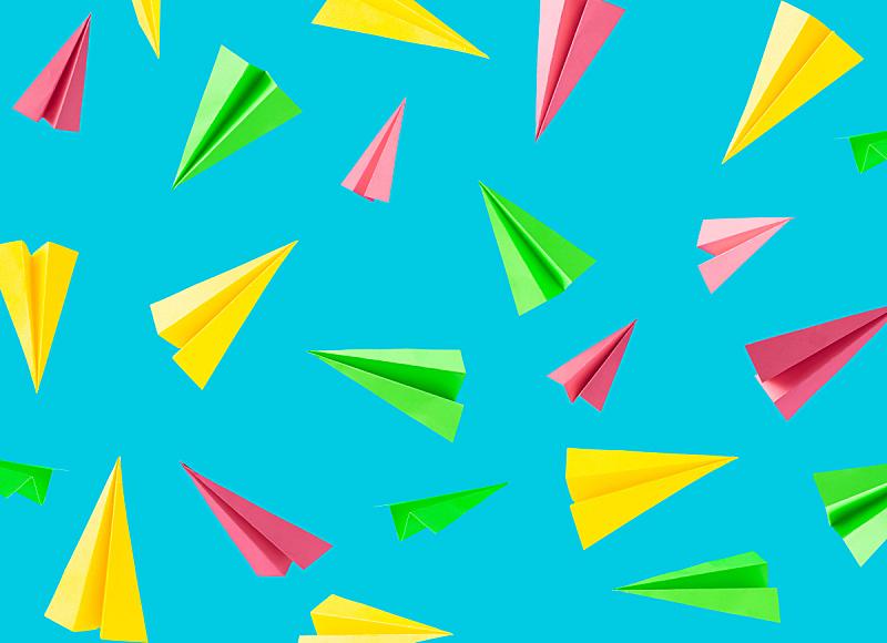 天空,纸,多色的,背景,蓝色背景,军用机,式样,风,边框,艺术