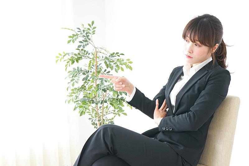 套装,办公室,女商人,青少年,男商人,男性,日本人,现代,白色,技术