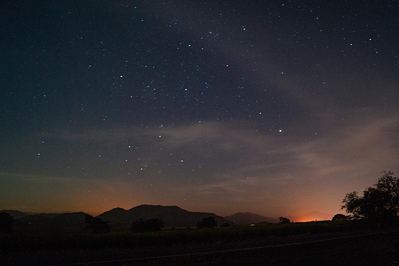 星星,路,火,自然,天空,水平画幅,地形,夜晚,无人,墨西哥