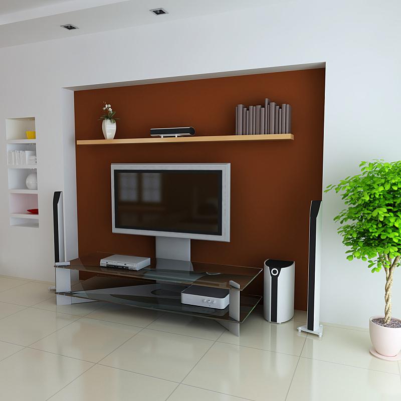 现代,室内,削尖,住宅房间,座位,形状,无人,装饰物,家具,金属