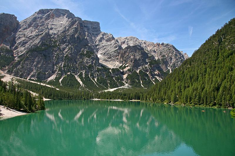 湖,上阿迪杰,山,多洛米蒂山脉,背景,意大利,自然,水平画幅,北提洛尔,秋天